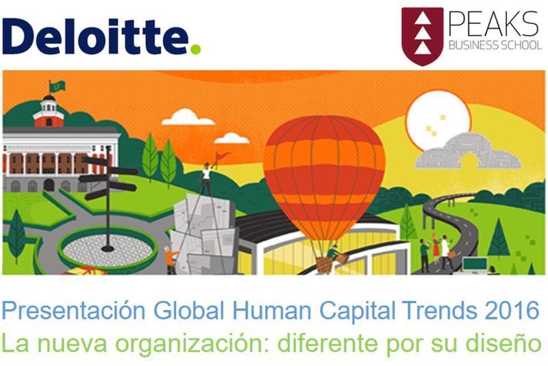 Global Human Capital 2016 - Deloitte - PEAKS Business School