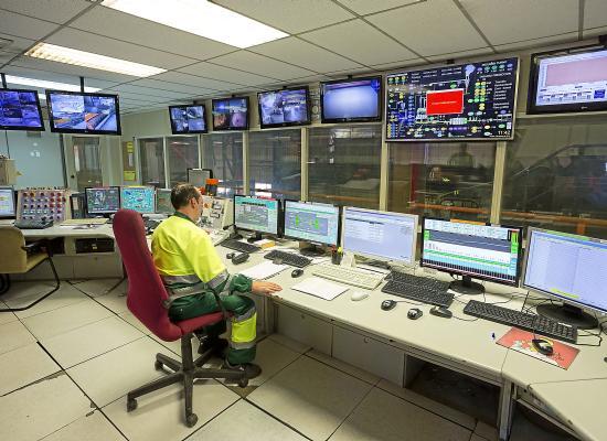 Master Industria 4.0. Sala de control