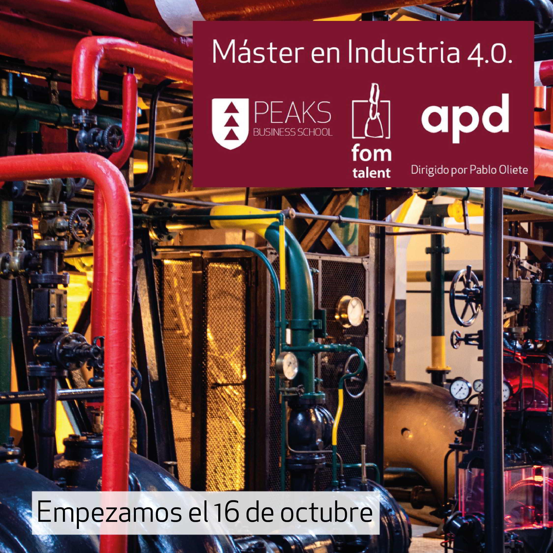 Máster en Industria 4.0 Valencia
